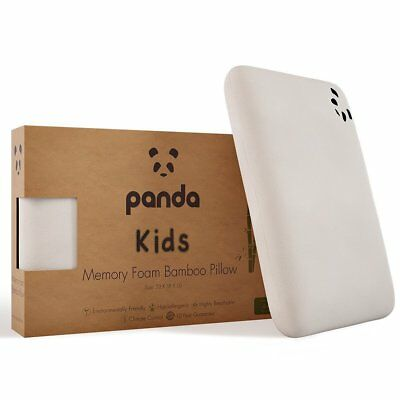 Panda Kids Luxury Memory Foam Bamboo Pillow (4+ Years)