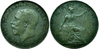 1912-1936 Farthing Of George V.  Choose Your Date!     One Coin/Buy!