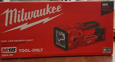 NEW Milwaukee 2354-20 M18 led search light (TOOL ONLY)