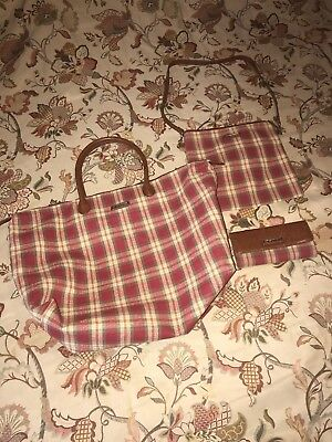 Longaberger tote bag, Crossbody, And Wallet
