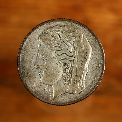 Raw 1930 Greece 10D ( 10 Drachma ) Uncertified Collectable Coin