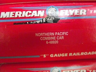 American Flyer 48920 Northern Pacific North Coast Limited 8920