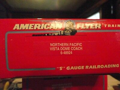 American Flyer 48924 Northern Pacific Vista Dome Coach 8924