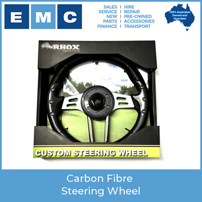 Carbon Fibre Steering Wheel for Golf Carts