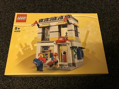Lego Store Shop Building Brand 40305 Hard To Find New Genuine 2018 Mini Figure