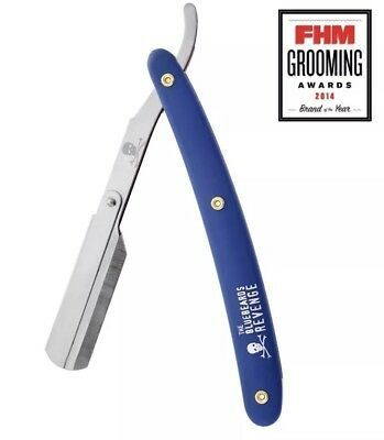The Bluebeards Revenge Cut-Throat Straight Razor (Uses Replaceable Blades) BBRCT