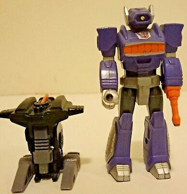 Transformer Action Master SHOCKWAVE and FISTFIGHT + Card!!!