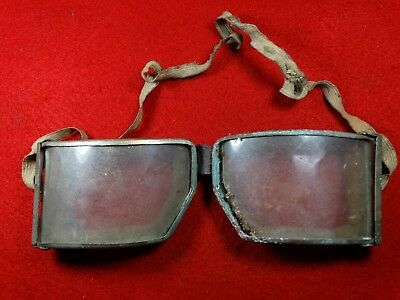 German Goggles Brille 100% original Wehrmacht For BMW R75 motorcycle WH WWII ww2