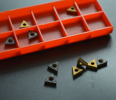 FREE SHIPPING TCMT090204-PM 4225 / TCMT1.8(1.5)1 CARBIDE INSERTS for steel