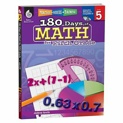 Lot of 4 math workbooks 5th grade 500 picclick 180 days of math for fifth grade 5th grade problem solving workbook childre fandeluxe Image collections