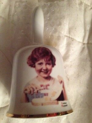 Norman Rockwell 1976 The Butter Girl 1st Limited Edition Collectors Bell In Box