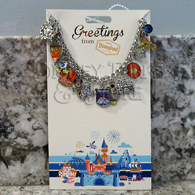 Disney Parks & Disneyland Mickey Friends Characters & Attractions Charm Bracelet