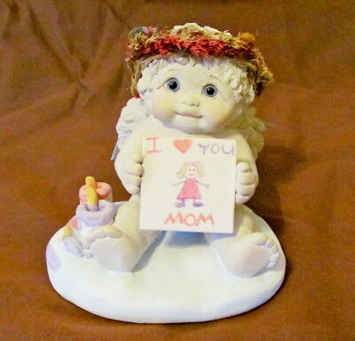 """Dreamsicles #10116 Figurine - """"I Love You Mom"""" - Signed & Dated 1998 by Kristin"""