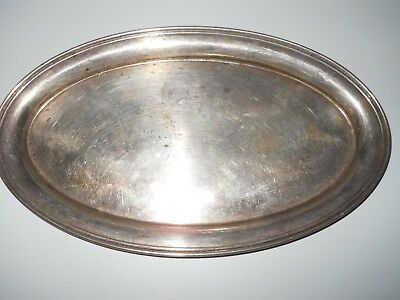 Gorham 124 Sterling Silver Oval Tray -  4.8 oz