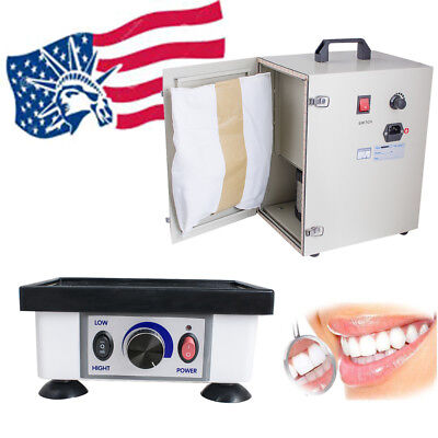 Dental lab equipment Dust Collector Vacuum Cleaner+Model Vibrator Oscillator FDA