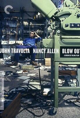 Blow Out [Criterion Collection] (2011, DVD NUOVO) (REGIONE 1)