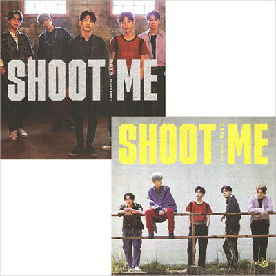 DAY6 SHOOT ME:YOUTH PART1 3rd Mini Album CD+POSTER+Book+3p Card+Sticker+PreOrder