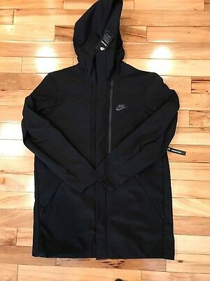 9478f823802f NIKE TECH SHIELD Hooded Jacket Black 886162-010 Men s XL NWT ( 250 ...