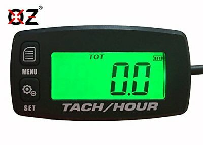 OZ-USA Tach Hour Meter tachometer RPM backlit display motorcycle atv dirtbike...