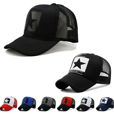 Cap Mesh Gorras Summer Baseball Hats Women Hat Men Hip Caps Sun Trucker Hop