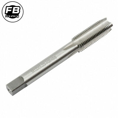 M12 x 1.25 Metric 12MM High Speed Steel The right hand thread  HAND Plug Tap 4FL