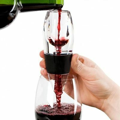 Mini Red Wine Aerator Filter, Magic Decanter Essential Wine Quick Aerator, Wine