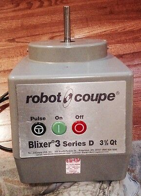 Robot coupe blixer 3 series D motor/base only