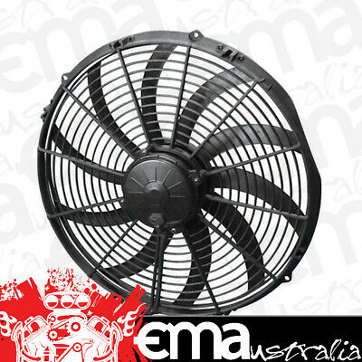 "16"" Extreme Electric Thermo Fan (3000 cfm - Puller Type With Curved Blades, 26 a"