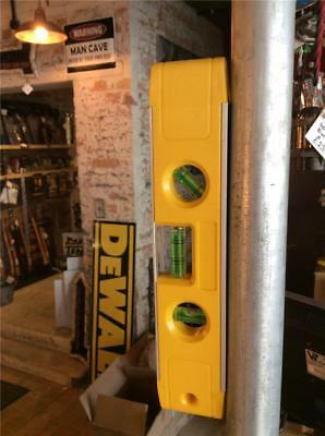 """CLEARANCE LOT816 ANUF MAGNETIC SPIRIT LEVEL 9"""" 230 mm BOAT LEVEL"""