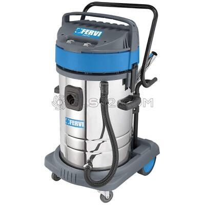 Industrial Wet And Dry Vacuum Cleaner 230V With Accessories Fervi A040/802