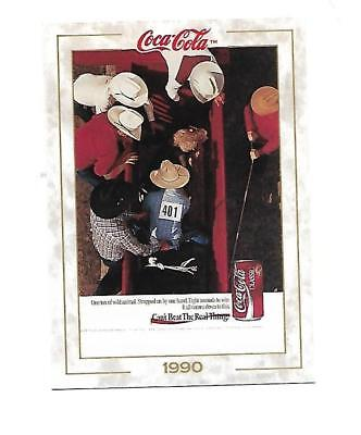 Coca Cola Collection (1993) 1990 # 97 Rodeo Bull Riding