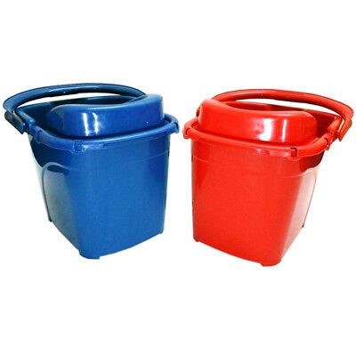 High Quality Industrial Plastic Planet Cleaning Mop Bucket 15L With Wheels