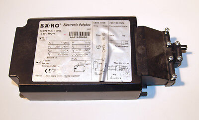 Bäro Electronic Polybox Evg S808-100B for Bfl-Bflmini 100W Used