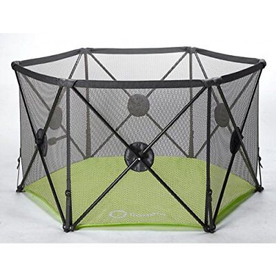 Callowesse Pop Up + Play Playpen With Securing Lock + Cushioned Guards - New