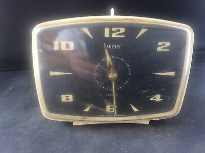 Vintage Smiths Repeater Alarm Clock Made in Great Britain Needs Attention