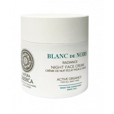 Natura Siberica Blanc de Noirs Night Cream Radiance Night Face Cream 50ml