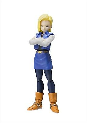 ANDROID No.18 Figure S.H.Figuarts Dragon Ball Z BANDAI TAMASHII NATIONS new