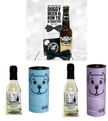 Woofin & Pawsecco, Beer & Popcorn -Party or Birthday Gifts for Dogs - You Select