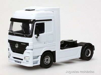 1/50 Mercedes Benz Actros Camion Trailer Joal Made In Spain Diecast