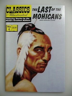 Classics Illustrated #4 Last of the Mohicans Jack Lake Productions Comic 2007