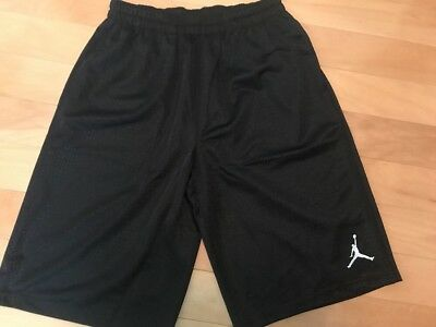 e1e8ef468023ee NWT Boy s Nike Air Jordan Black Mesh Basketball Shorts Large 959922-023  35