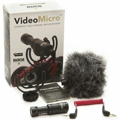 Rode VideoMicro Compact On-Camera Microphone - Video Micro ~ BRAND NEW!!