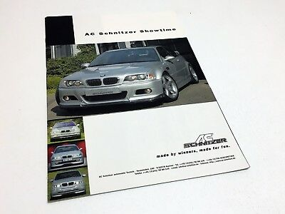 Ac Schnitzer Bmw S3 C30 X5 X Road X5 C30 S3 Sport Touring Accessories Brochure