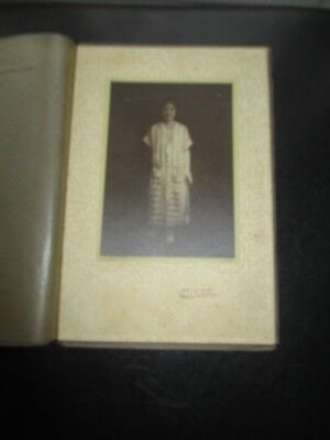 Vintage Photograph Japan Young  Woman In Dress