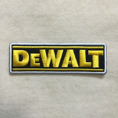 Dewalt Tools Tool Logo Embroidery Iron On Patch Badge