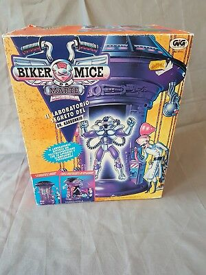 Biker Mice from Mars Dr. Karbunkle´s Transporter & Secret Lab Playset - GiG Box