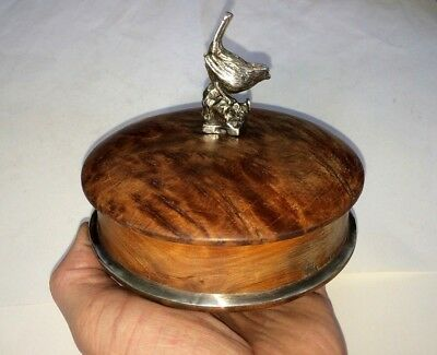 very RARE imperial Russian Antique Solid Walnut  jewelry Box with 84 silver