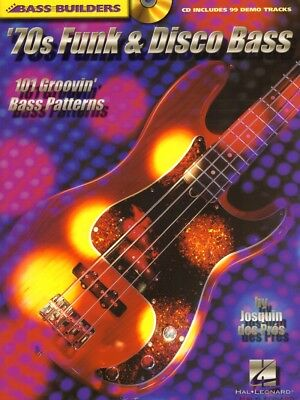 Bass Builders '70s Funk & Disco Bass Grooves Josquin des Pres Noten Tab mit CD