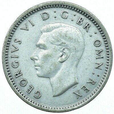 1937-1942 Silver Threepence George Vi. Choose Your Date!     One Coin/Buy!   #9
