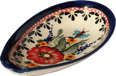 Polish Pottery Spoon Rest from Zaklady Ceramiczne 1015/149ar